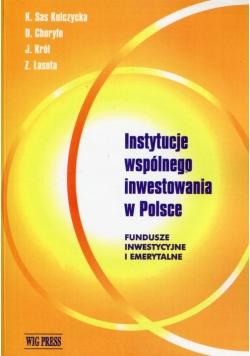 Instytucje wspólnego inwestowania w Polsce