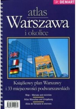 Warszawa i okolice - atlas miasta
