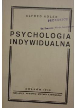 Psychologia indywidualna, 1946r.