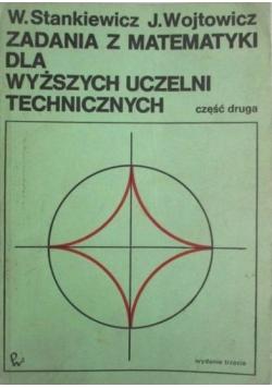 Zadania z matematyki dla wyższych uczelni technicznych, Część 2