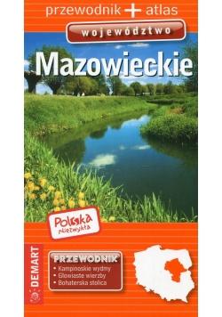 Polska Niezwykła Mazowieckie przewodnik + atlas