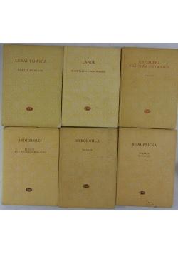 Państwowy Instytut Wydawniczy, zestaw 6 książek