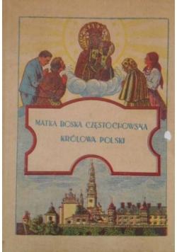 Matka Boska Częstochowska Królowa Polski, 1939 r.