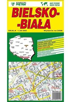 Bielsko- Biała 1:20 000 plan miasta PIĘTKA