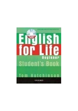 English for life Beginner SB with CD