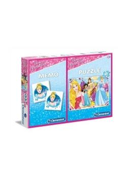 Puzzle Księżniczki 60 + Memo
