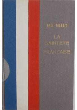 La saintete Francaise, 1938r.