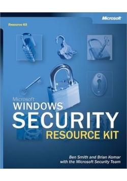 Microsoft Windows . Security Resource Kit