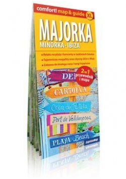 Comfort! map&guide Majorka 2w1 plan miasta
