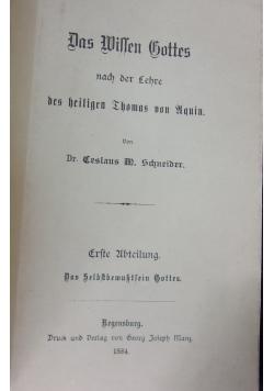 Das Willen Gattes, 1884r.