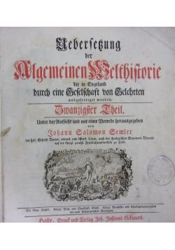 Algemeinen Belfbiftorie, 1795 r.