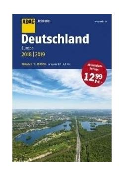 ReiseAtlas ADAC. Deutschland, Europa 2018/2019