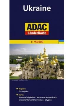 LanderKarte ADAC. Ukraina 1:750 000 mapa