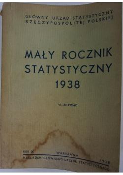 Mały Rocznik Statystyczny 1938, 1938 r.