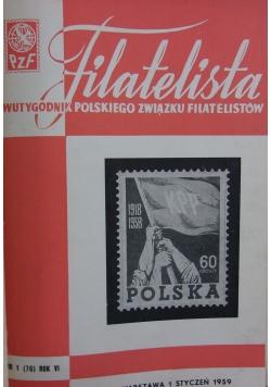 Filatelista 1959 r.