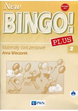 New Bingo!2 Plus2 Materiały ćwiczeniowe z płytą CD