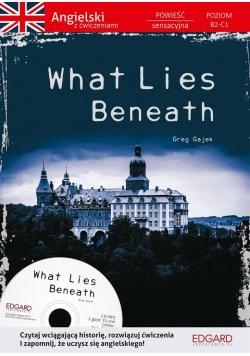 Angielski Powieść z ćwiczeniami What Lies Beneath