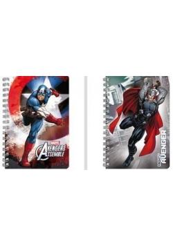 Notes spiralny A6 Avengers (10szt) DERFORM