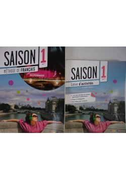 Saison 1. Methode De Francais/Cahier d'activites+ CD