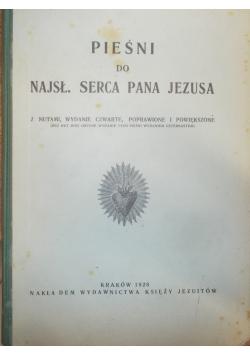 Pieśni do najsł. serca Pana Jezusa,1928r.