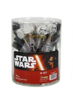 Ołówek z dużą gumką Star Wars 99 (36szt) DERFORM