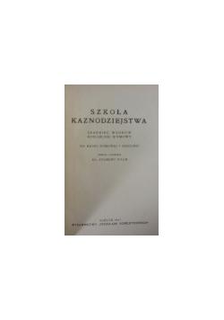 Szkoła kaznodziejstwa, 1937 r.