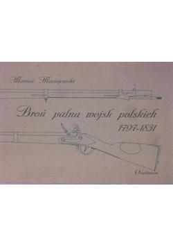 Broń palna wojsk polskich 1797-1831