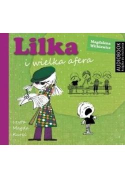 Lilka i wielka afera. Książka audio CD MP3