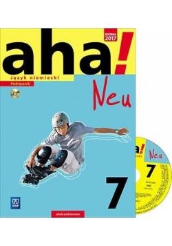AHA! 7 Neu Podr. + CD ZP WSiP