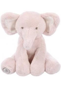 Słoń Dominique 25cm różowy