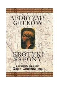 Aforyzmy Greków Erotyki Safony