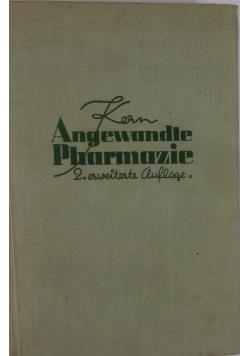 Angewandte Pharmazie, 1937 r