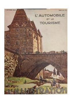 L'automobile et le turisme, 1930 r.