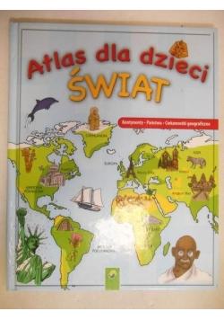 Atlas dla dzieci Świat