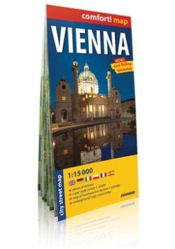 Comfort!map Vienna (Wiedeń) 1:15 000 plan miasta