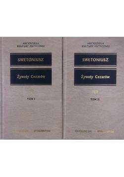 Żywoty Cezarów, Tom I-II