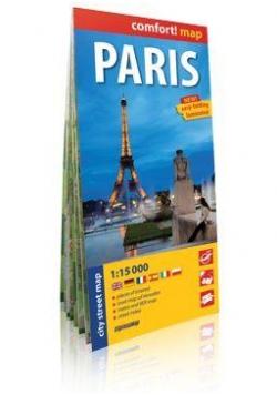 Comfort!map Paris (Paryż) 1:15000 plan miasta