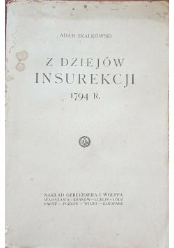 Z dziejów insurekcji 1794 r.,  1926 r.