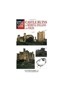 Castle ruins of medieval england and wales