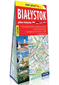 Białystok papierowy plan miasta 1:20 000