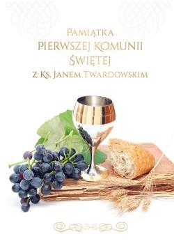 Pamiątka I Komunii Świętej z ks. Janem Twardowskim