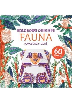 Kolorowe origami Fauna