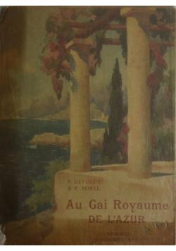 Gai Royaume de L'azur ,1926r.