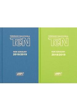 Terminarz nauczyciela 2018/2019 mix kolorów