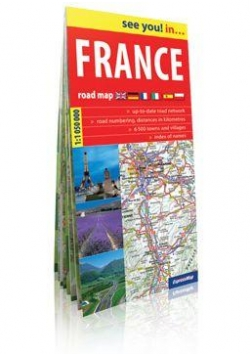See you! in... France 1:1 050 000 mapa