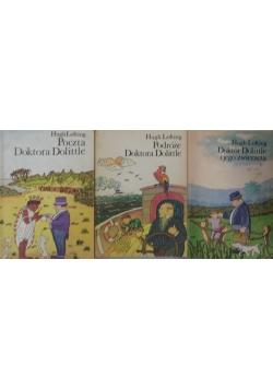 Doktor Dolittle, zestaw 3- książek