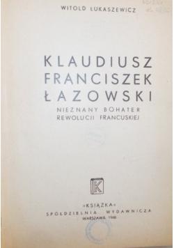 Klaudiusz Franciszek Łazowski , 1948r.