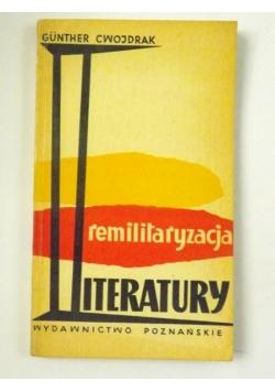 Cwojdrak Gunther - Remilitaryzacyjna literatury