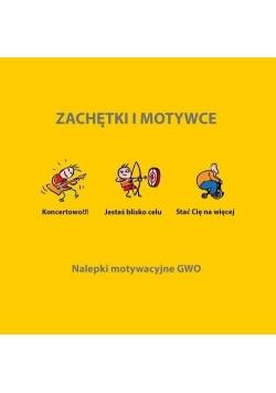Zachętki i motywce ogólne - 192 naklejki GWO