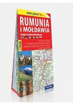 See you! in... Rumunia i Mołdawia 1:700 000 mapa